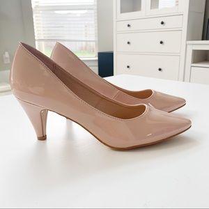 Forever Taupe Pat Heels Grande-22